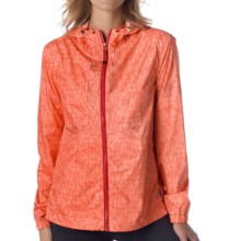 prAna Callista Windbreaker Jacket (For Women) in Neon Orange - Closeouts