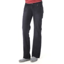 prAna Canyon Cord Pants - Stretch Cotton (For Women) in Black - Closeouts