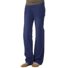 prAna Canyon Cord Pants - Stretch Cotton (For Women) in Blue Twilight - Closeouts