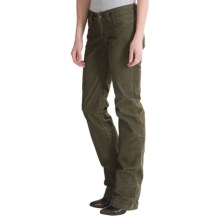 prAna Canyon Cord Pants - Stretch Cotton (For Women) in Cargo Green - Closeouts