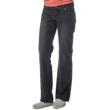 prAna Canyon Cord Pants - Stretch Cotton (For Women) in Coal - Closeouts