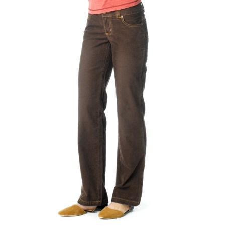 prAna Canyon Cord Pants - Stretch Cotton (For Women) in Espresso