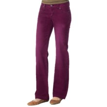 prAna Canyon Cord Pants - Stretch Cotton (For Women) in Grapevine - Closeouts