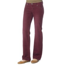prAna Canyon Cord Pants - Stretch Cotton (For Women) in Pomegranate - Closeouts