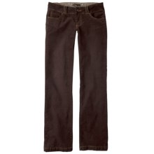 prAna Canyon Stretch Cotton Corduroy Pants - 5-Pocket (For Women) in Espresso - Closeouts