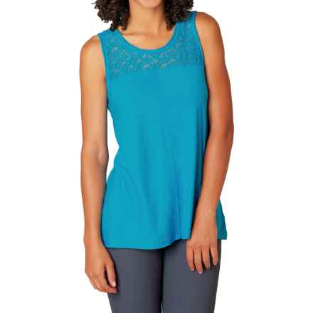 prAna Cassi Tank Top - Organic Cotton (For Women) in Cove - Closeouts