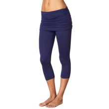 prAna Cassidy Capris - Attached Skirt (For Women) in Indigo - Closeouts