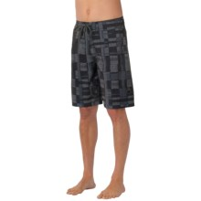 prAna Catalyst Boardshorts - UPF 50+ (For Men) in Black - Closeouts