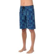 prAna Catalyst Boardshorts - UPF 50+ (For Men) in Danube Blue - Closeouts