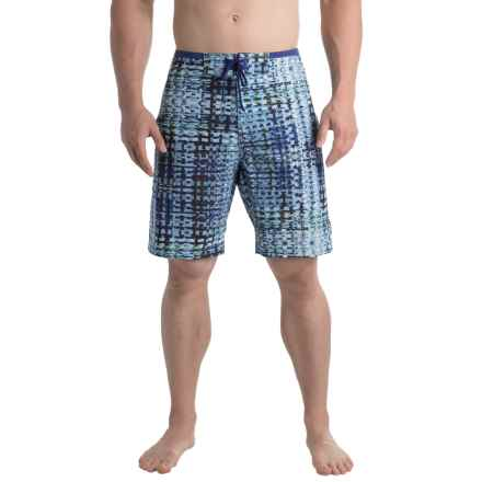 prAna Catalyst Boardshorts - UPF 50+ (For Men) in Dusky Skies Ripple - Closeouts