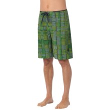 prAna Catalyst Boardshorts - UPF 50+ (For Men) in Green - Closeouts