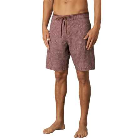 prAna Catalyst Boardshorts - UPF 50+ (For Men) in Raisin - Closeouts