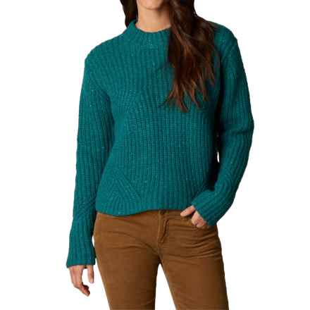 prAna Cedric Sweater (For Women) in Deep Teal - Closeouts