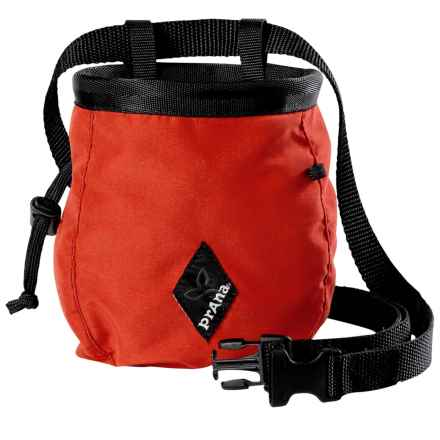 prAna Chalk Bag with Belt (For Men and Women) in Scarlet Red - Closeouts