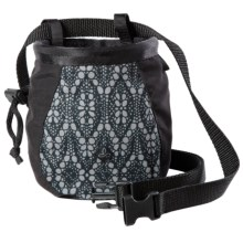 prAna Chalk Bag with Belt (For Women) in Black Baleen - Closeouts