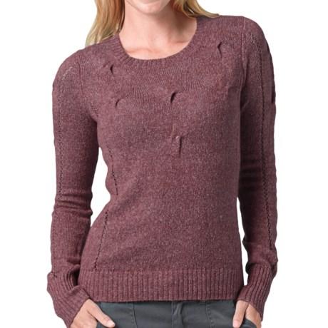 prAna Chloe Sweater (For Women) in Vintage Grape
