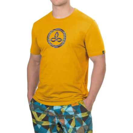 prAna Classic T-Shirt - Organic Cotton, Short Sleeve (For Men) in Amber - Closeouts