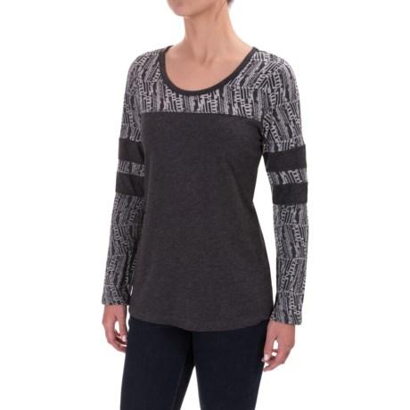 prAna Cleo Shirt - Long Sleeve (For Women) in Black
