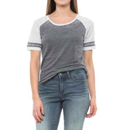 prAna Cleo T-Shirt - Short Sleeve (For Women) in Coal - Closeouts