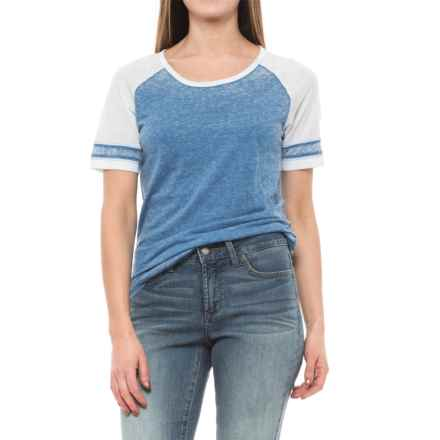 prAna Cleo T-Shirt - Short Sleeve (For Women) in Vortex Blue - Closeouts