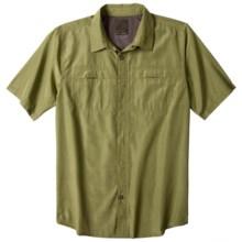 prAna Companion Shirt - UPF 30+, Short Sleeve (For Men) in Dark Grass - Closeouts
