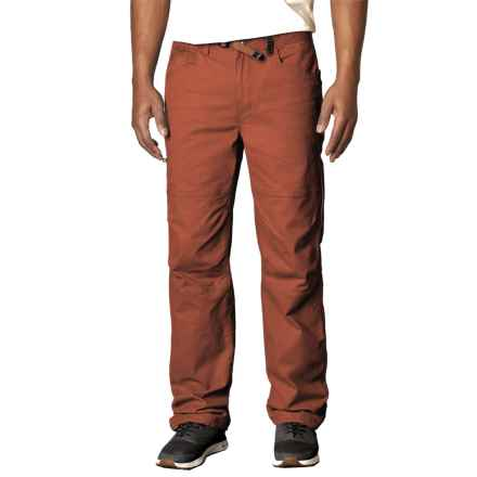 prAna Continuum Pants - Organic Cotton (For Men) in Henna - Closeouts