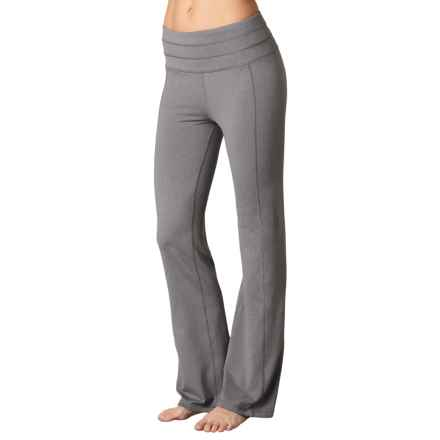 prAna Contour Pants (For Women) in Heather Grey - Closeouts