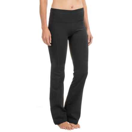 prAna Contour Yoga Pants - Tall Inseam (For Women) in Black - Closeouts