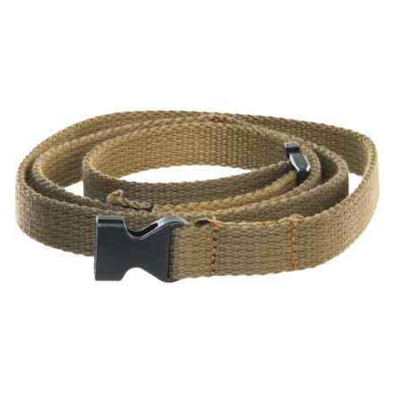 prAna Cotton Chalk Bag Belt in Olive - Closeouts