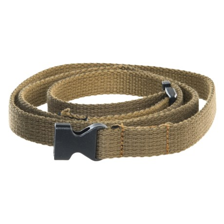 prAna Cotton Chalk Bag Belt in Olive
