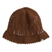 prAna Crochet Hat (For Women) in Espresso - Closeouts