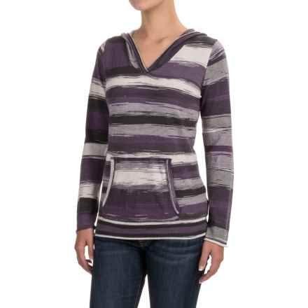 prAna Daniele Hoodie Sweater - Organic Cotton (For Women) in Purple Mountain - Closeouts