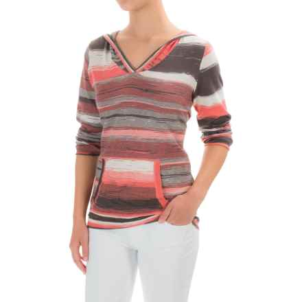 prAna Daniele Sweater - Organic Cotton (For Women) in Summer Peach - Closeouts