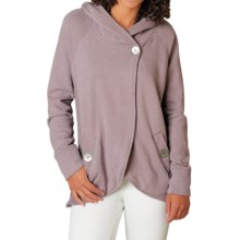 prAna Darby Hooded Swing Jacket - Organic Cotton (For Women) in Malva Mauve - Closeouts