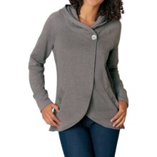 prAna Darby Hooded Swing Jacket - Organic Cotton (For Women) in Moonrock - Closeouts