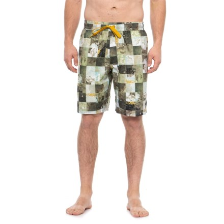 6144fe9e631c prAna Dark Khaki Bungalow Swim Trunks (For Men) in Dark Khaki Bungalow