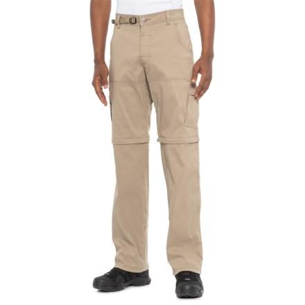 "de527d50ef prAna Dark Khaki Stretch Zion Convertible Pants - UPF 50+, 34"" (For"