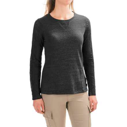 prAna Darla Shirt - Organic Cotton, Long Sleeve (For Women) in Black - Closeouts