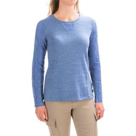 prAna Darla Shirt - Organic Cotton, Long Sleeve (For Women) in Vintage Cobalt - Closeouts