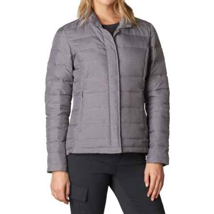 prAna Dawn Blazer Down Jacket - 650 Fill Power (For Women) in Muted Truffle - Closeouts