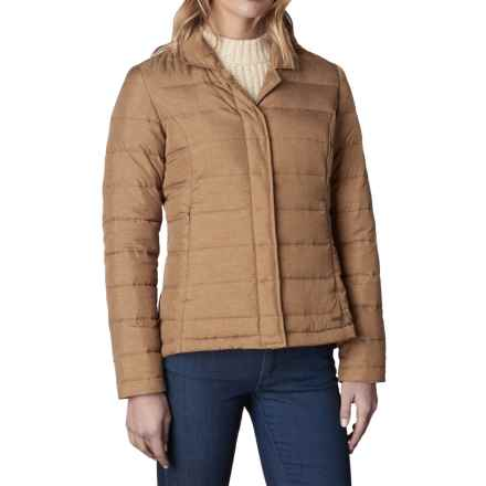 prAna Dawn Blazer Down Jacket - 650 Fill Power (For Women) in Tortoise - Closeouts