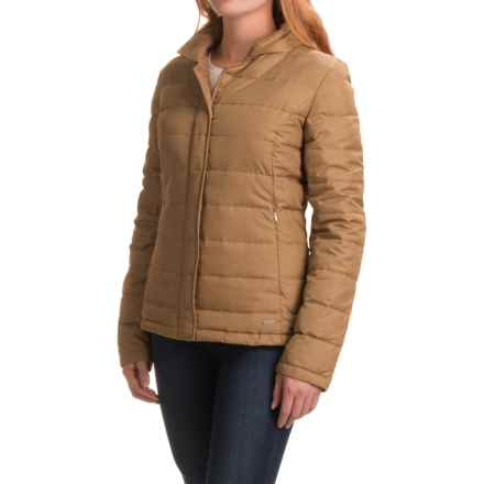 prAna Dawn Packable Down Jacket (For Women) in Tortoise - Closeouts