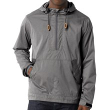 prAna Dax Jacket - Zip Neck (For Men) in Coal - Closeouts