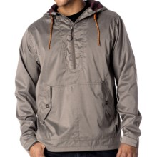 prAna Dax Jacket - Zip Neck (For Men) in Earth Grey - Closeouts