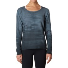 prAna Deelite Sweatshirt - Open Back (For Women) in Coal - Closeouts