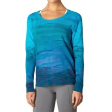 prAna Deelite Sweatshirt - Open Back (For Women) in Cove - Closeouts