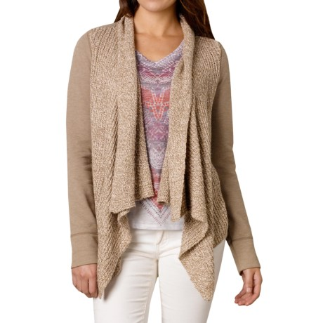 prAna Demure Cardigan Sweater Organic Cotton Blend, Long Sleeve (For Women)