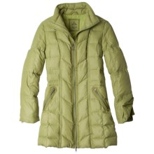 prAna Devan Down Jacket - 750 Fill Power (For Women) in Grass - Closeouts