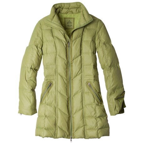 prAna Devan Down Jacket - 750 Fill Power (For Women) in Coal