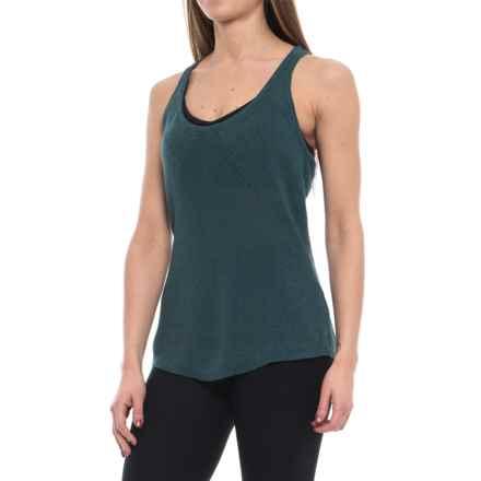 prAna Devi Sweater Tank Top - Hemp-Organic Cotton (For Women) in Mood Indigo - Closeouts